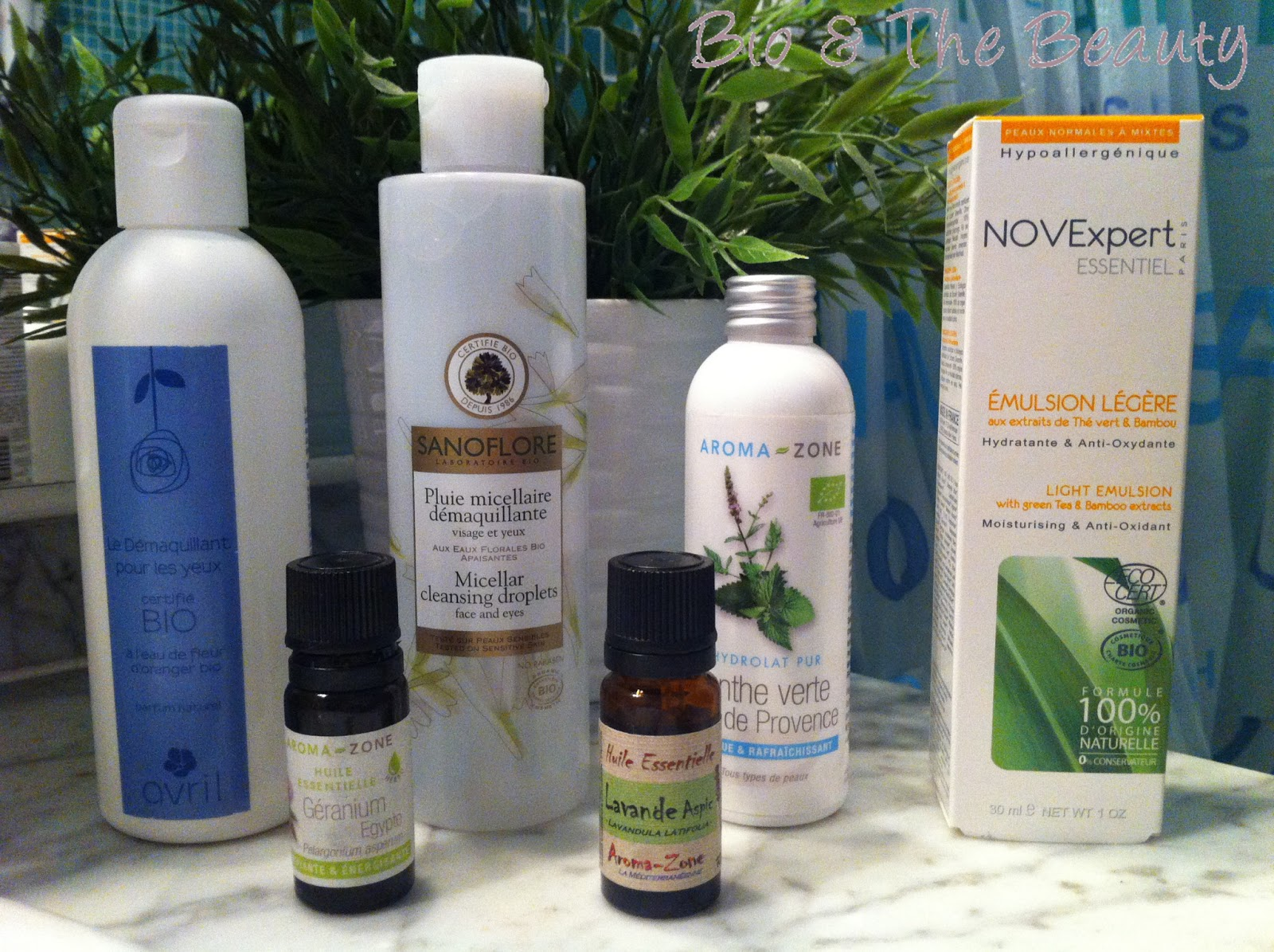 MA ROUTINE VISAGE DE PRINTEMPS : AVRIL BEAUTE, SANOFOLORE, NOVEXPERT, AROMA-ZONE …