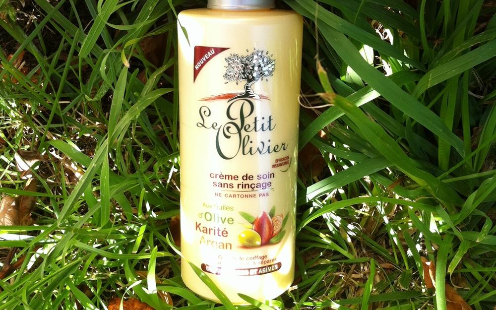 creme soin cheveux secs le petit olivier