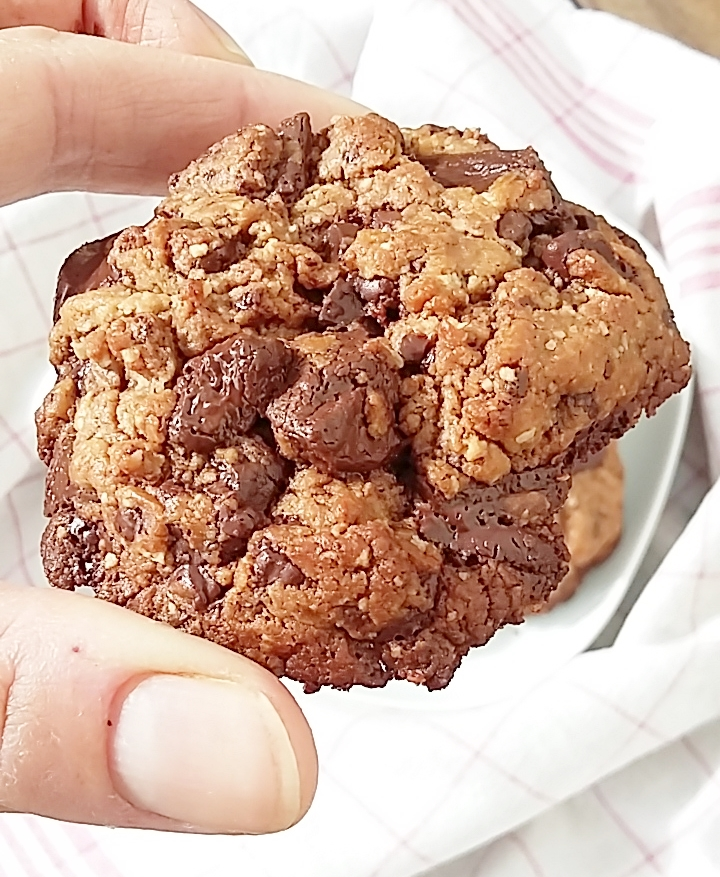 cookies chocolat paleo sans gluten sans lactose
