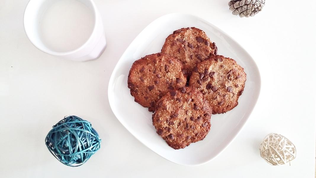 Cookies aux pépites de chocolat sans gluten et paleo trop bons