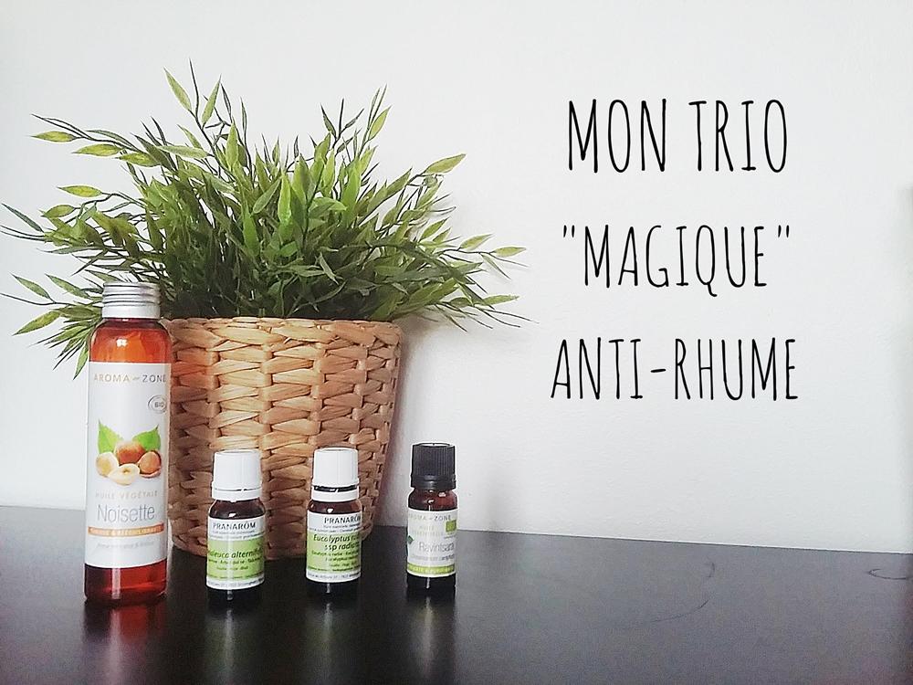 3 huiles essentielles vraiment «magiques» pour stopper le rhume