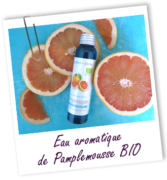 eau florale de pamplemousse aroma zone