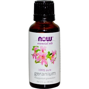 huile essentielle acné géranium