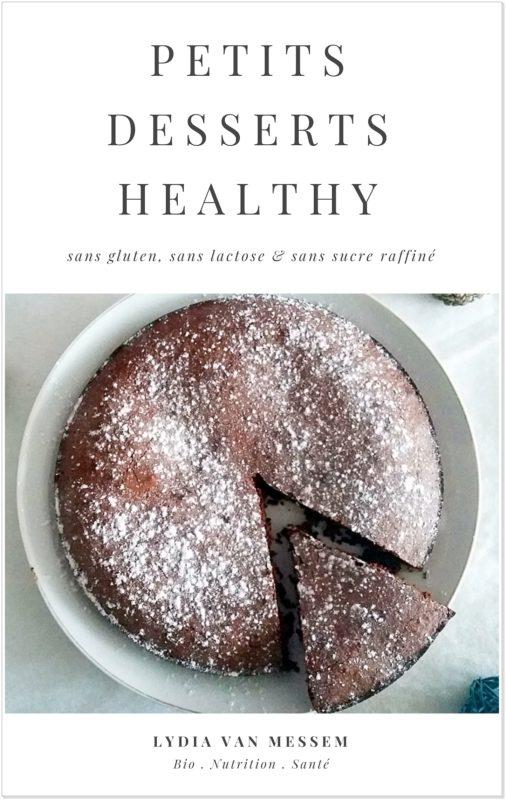 ebook petits desserts healthy de Lydia Van Messem