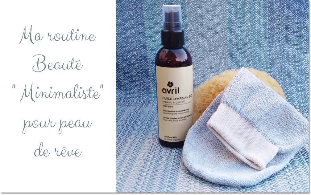 routine beauté minimaliste peau saine