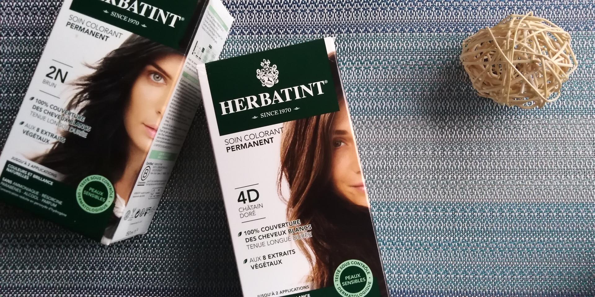 Mon avis sur la coloration semi-végétale Herbatint