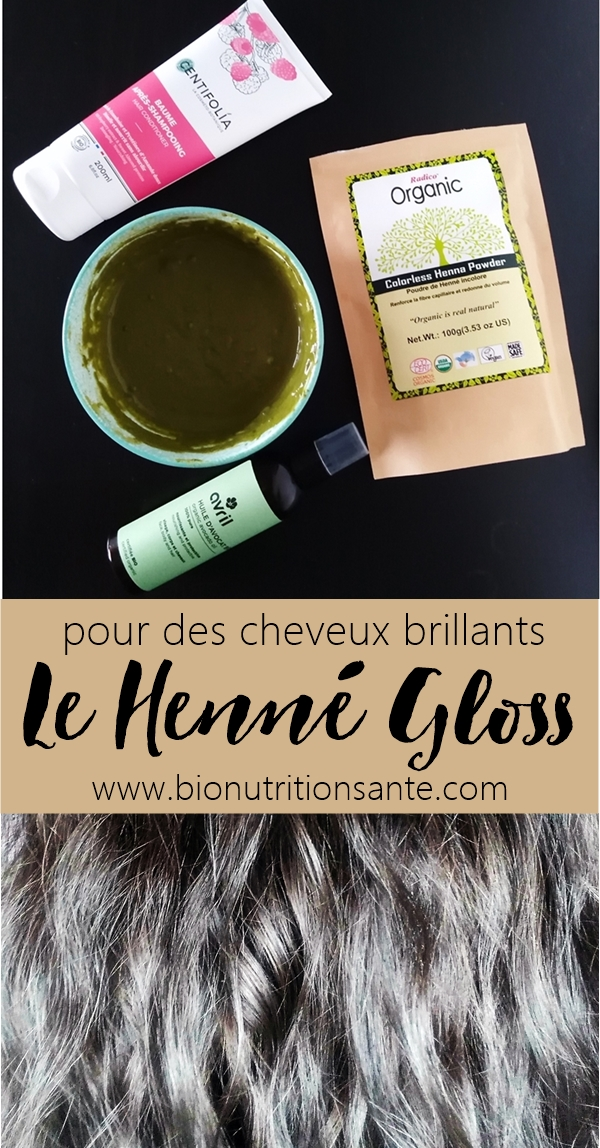 henné gloss - bio nutrition santé