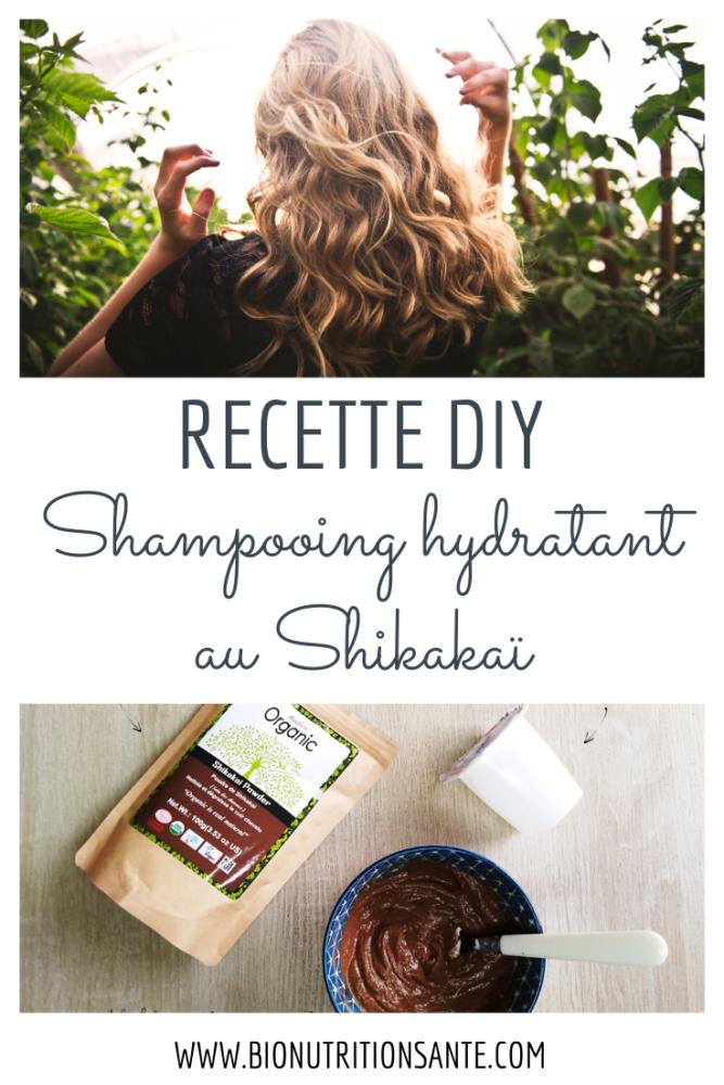 recette maison DIY - shampooing hydratant au shikakai