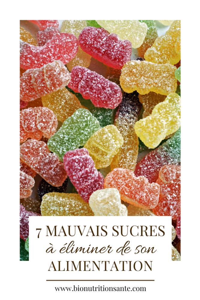 7 mauvais sucres à éliminer de son alimentation