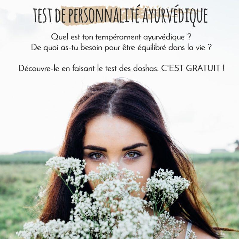 test personnalité ayurveda - dosha vata, pitta, kapha