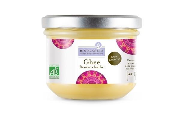 matières grasses : ghee beurre clarifié bio planète