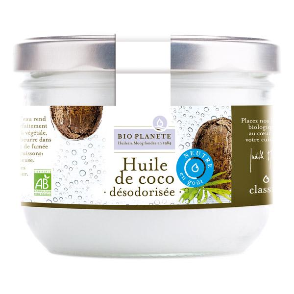huiles alimentaires de coco bio planète