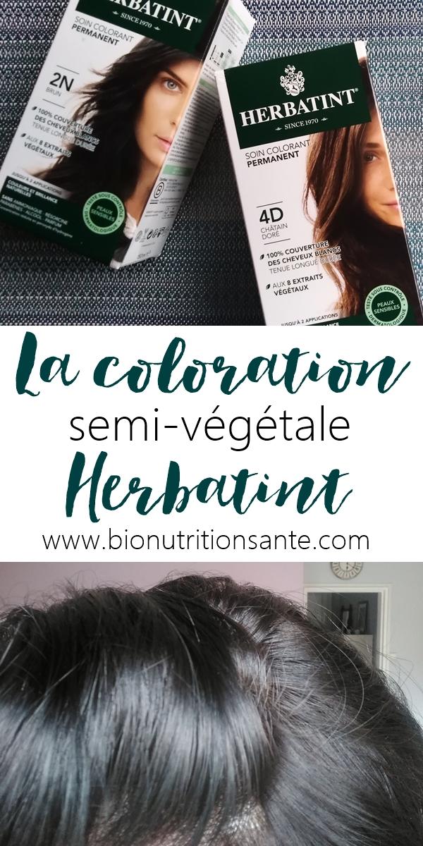 coloration semi-végétale Herbatint