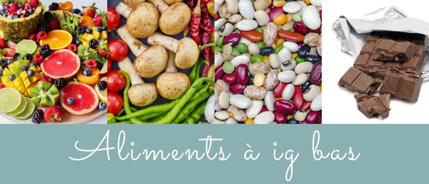 aliments à ig bas - blog bio nutrition santé