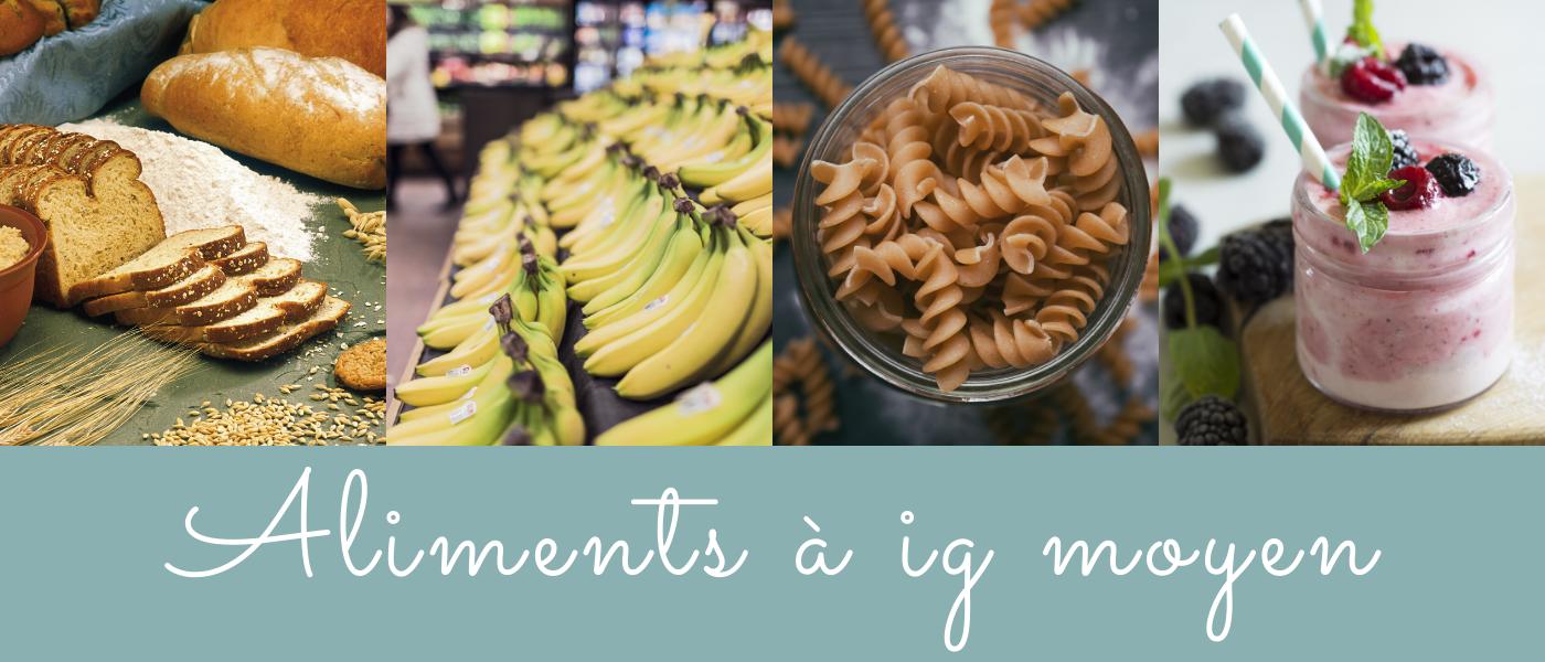 aliments à ig moyen - blog bio nutrition santé